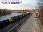 CSX 778 C40-8W 5 CSXT 8050 SD40-2 CSXT 1551 GP15-1  02/25/2006